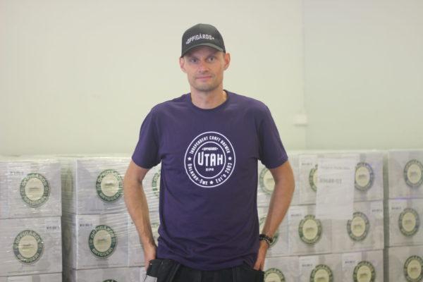 Utah T-shirt Anders